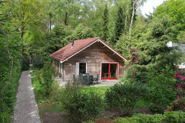 De Bosduif | houten lodge voor 6 personen | Veluwe Lodges Otterlo