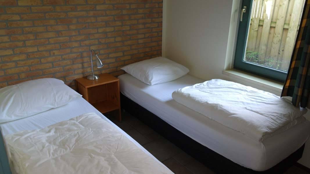 De Leeuwerik | lodge voor 6 personen, slaapkamer | Veluwe Lodges Otterlo