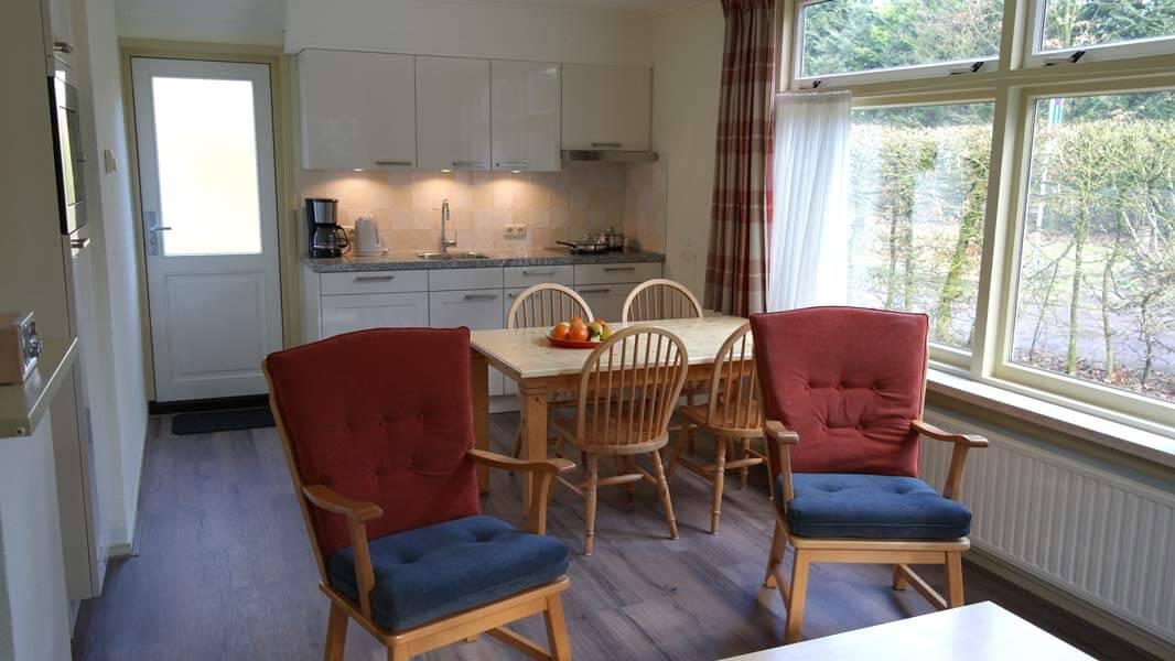 Het Roodborstje - keuken | Romantische lodge voor 4 personen | Veluwe Lodges Otterlo